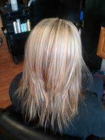 medium lentgh hair with highlights and low lights 12 pretty layered hairstyles for medium hair popular