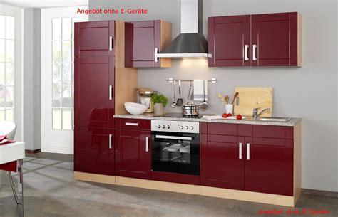 küchenzeile mit elektrogeräten billig g 252 nstige k 252 chenzeilen rheumri