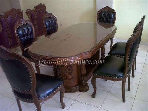 Gambar Dan Meja Makan Jepara set kursi makan ganesa jepara jati furniture