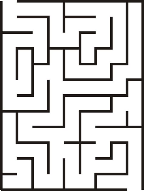 maze template free worksheets 187 printable mazes free math worksheets