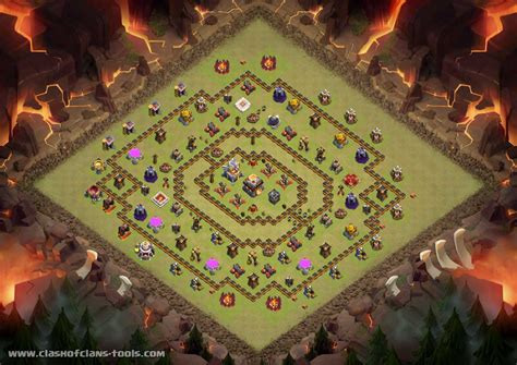 th11 clash of clans best base layouts noldy th11 war base base by noldy katili clash of clans