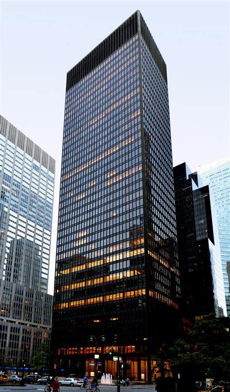 Seagram Building   The Skyscraper Center