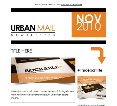 50 Email Templates To Enhance Your Newsletter S Appeal Naldz Graphics Beautiful Email Templates Free