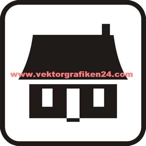 Haus Einrichtung 4058 piktogramm haus