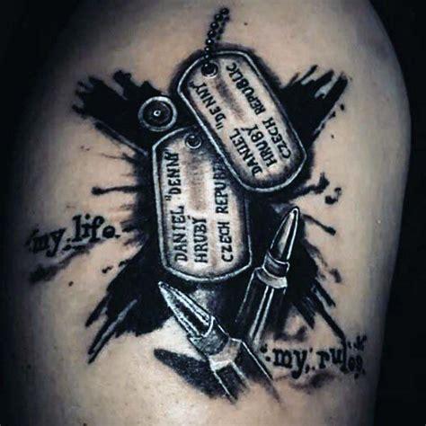 60 bullet tattoos for men a shot of design ideas