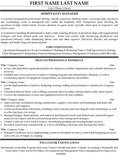 resume examples hotel jobs resume ixiplay free resume samples