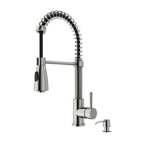 kitchen faucets with pull out sprayer vigo single handle pull out sprayer kitchen faucet with