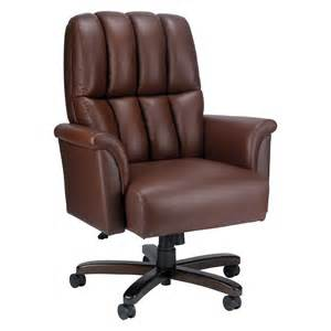 Lazy Boy Desk Chair From Office Depot La Z Boy Estes Leather Executive Chair At Hayneedle