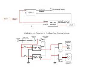 verify my time delay relay wiring hidplanet the official automotive lighting forum