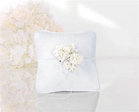 cuscino per fedi nuziali cuscino fedi nuziali sposi matrimonio porta fedi bianco