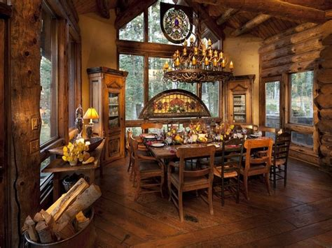 213 best images about cabins dining rooms on