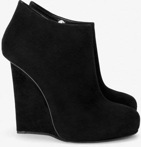 Wedges Ankle Black Preorder giuseppe zanotti preorder wedge bootie in black lyst