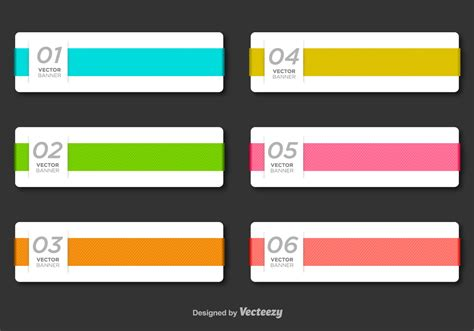 minimal business vector banner template download free