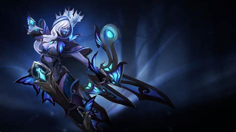 dota 2 drow wallpaper drow ranger guise of the winged bolt wallpaper downloads