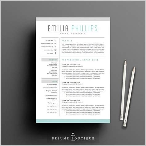 Free Creative Resume Templates by Free Creative Resume Template Word Doc Resume Resume