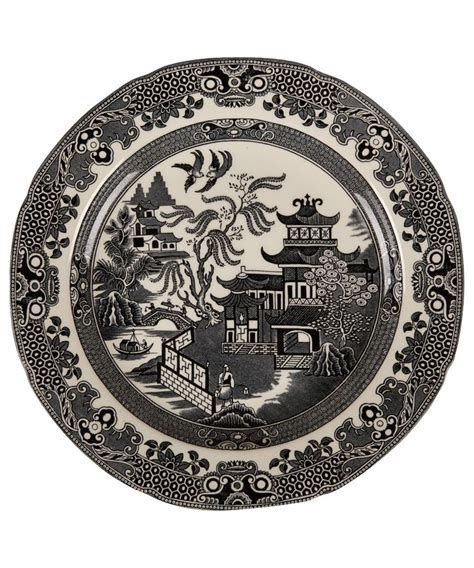 black and white willow pattern 70 best images about blue pink and black willow on