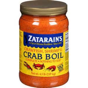 zatarain s crawfish shrimp crab boil 73 oz walmart com