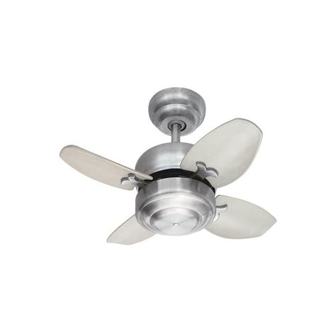 small white ceiling fans monte carlo mini 20 20 in brushed steel ceiling fan