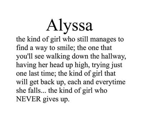 what is the name of the girl in the viagra tv commercial names meaning we heart it alyssa girl and names