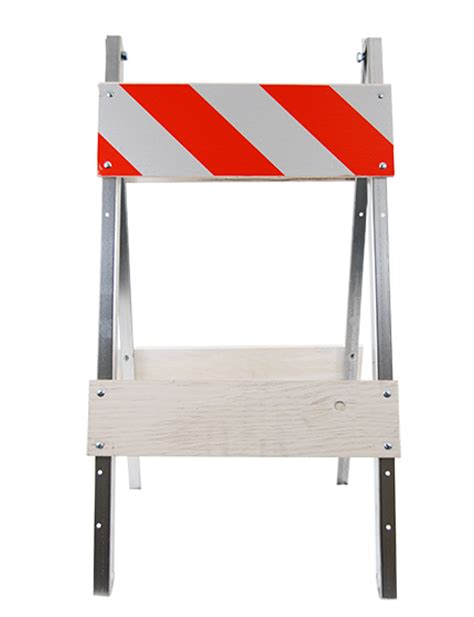 Barricade 2x3 By Safety Store economy wood and steel folding barricade traffic safety