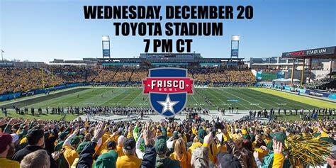 Toyota Stadium Frisco Events Inaugural Frisco Bowl Coming December 20 At Toyota Stadium