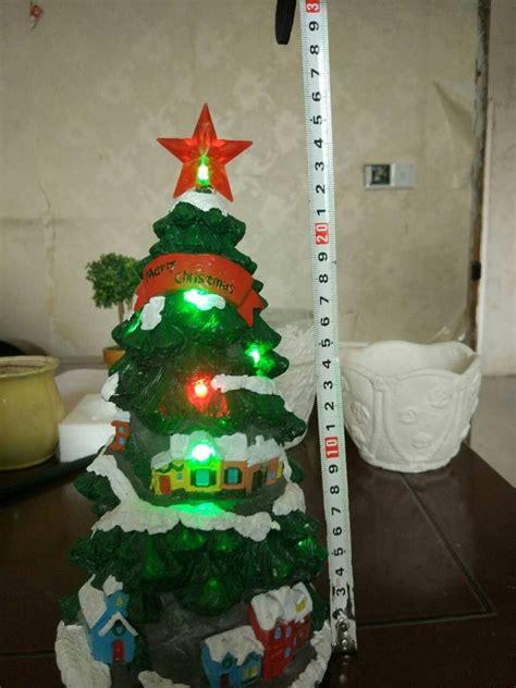 2016 popular like custom resin christmas trees with lights