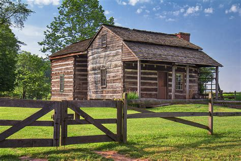 Jacksons Cabin by Jacksons Mill Cabin Photograph By Almond