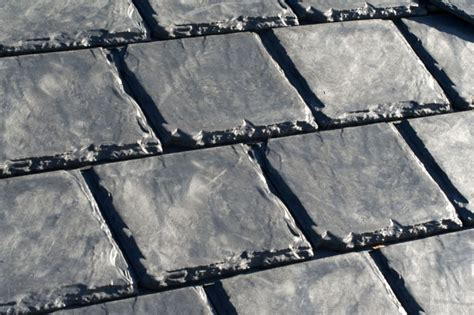 Rubber Roof Tiles Recycled Rubber Roofs Cheap And Eco Friendly Green Building Elements