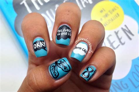 Nail Accesorries Style Nail Stickertape 1 25 insanely cool nail designs inspired by books
