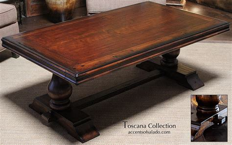 tuscan style coffee table side table sofa table