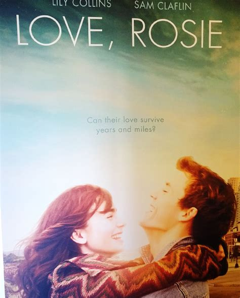 film love rosie z lektorem chatter busy lily collins suffers condom mishap in quot love
