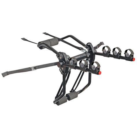 reese axis 3 3 bike trunk mount bike rack 1390300 the