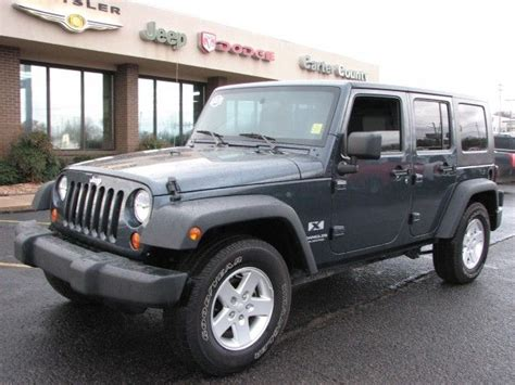 Jeep Mileage 2007 Jeep Wrangler 2wd Unlimited X Gas Mileage