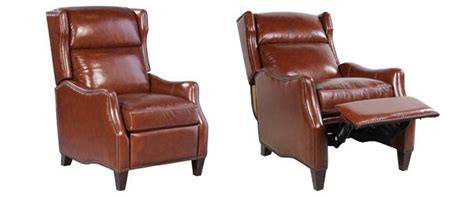narrow leather recliner bustle back narrow leather reclining chair club furniture