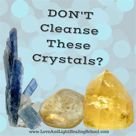 dont cleanse  crystals crystals crystal healing