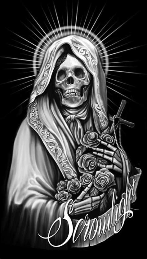 tattoo muerte meaning 55 best santa muerte magick images on pinterest magick