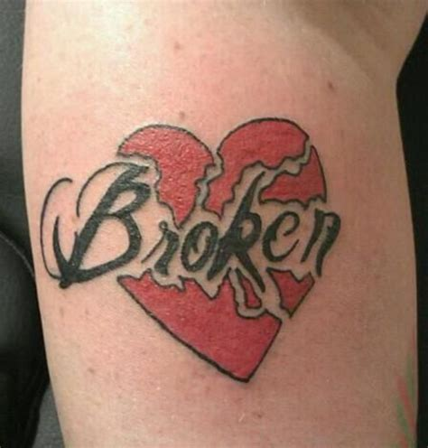 broken heart tattoos best 25 bleeding ideas on