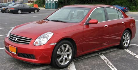 infiniti g35 specifications infiniti g35 technical specifications and fuel economy