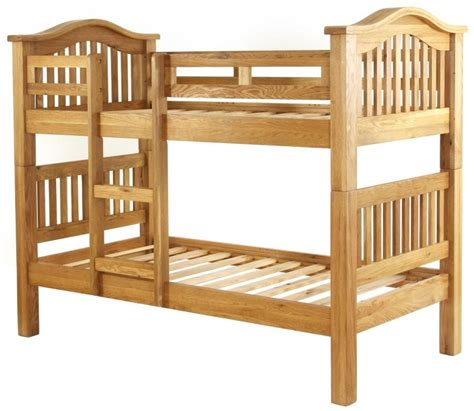 Buy Vancouver Petite Oak Bunk Bed Single Online Cfs Uk Vancouver Bunk Beds
