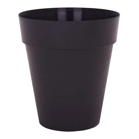 arte vasi arte vasi pot 224 fleur 171 187 noir 809800 rona