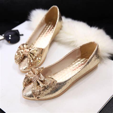 Korea Glitter Flat Shoes popular gold glitter flats buy cheap gold glitter flats