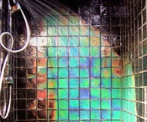 colour changing bathroom tiles 20 amazingly colorful shower tile ideas