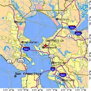 san pablo california map san pablo california ca population data races
