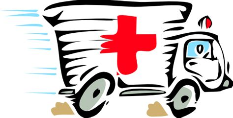 ambulance car clip art  clkercom vector clip art