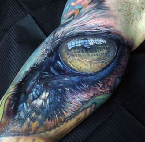 realistic dragon tattoos realistic eye cool arm for guys tattos