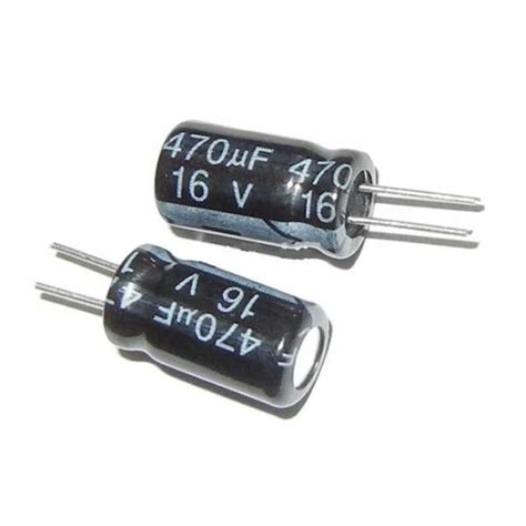 capacitor 470 mikro farad 470uf 16v electrolytic capacitor india rs 4 00 component7