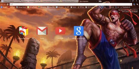 Theme Google Lee Sin | muay thai lee sin 1366x768 chrome theme themebeta