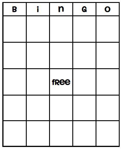 free blank bingo card template for teachers best 25 blank bingo cards ideas on bingo card