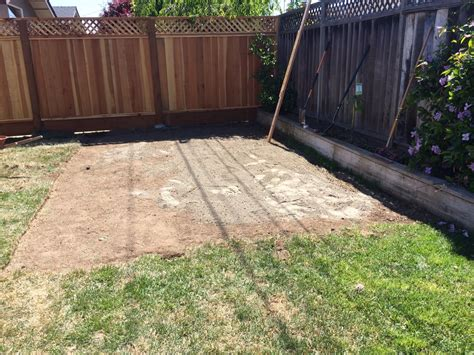 Best Way To Level Ground For Shed by Newbie Need Some Help