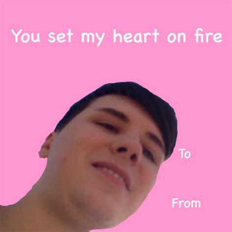 valentines day meme danisnotonfire meme